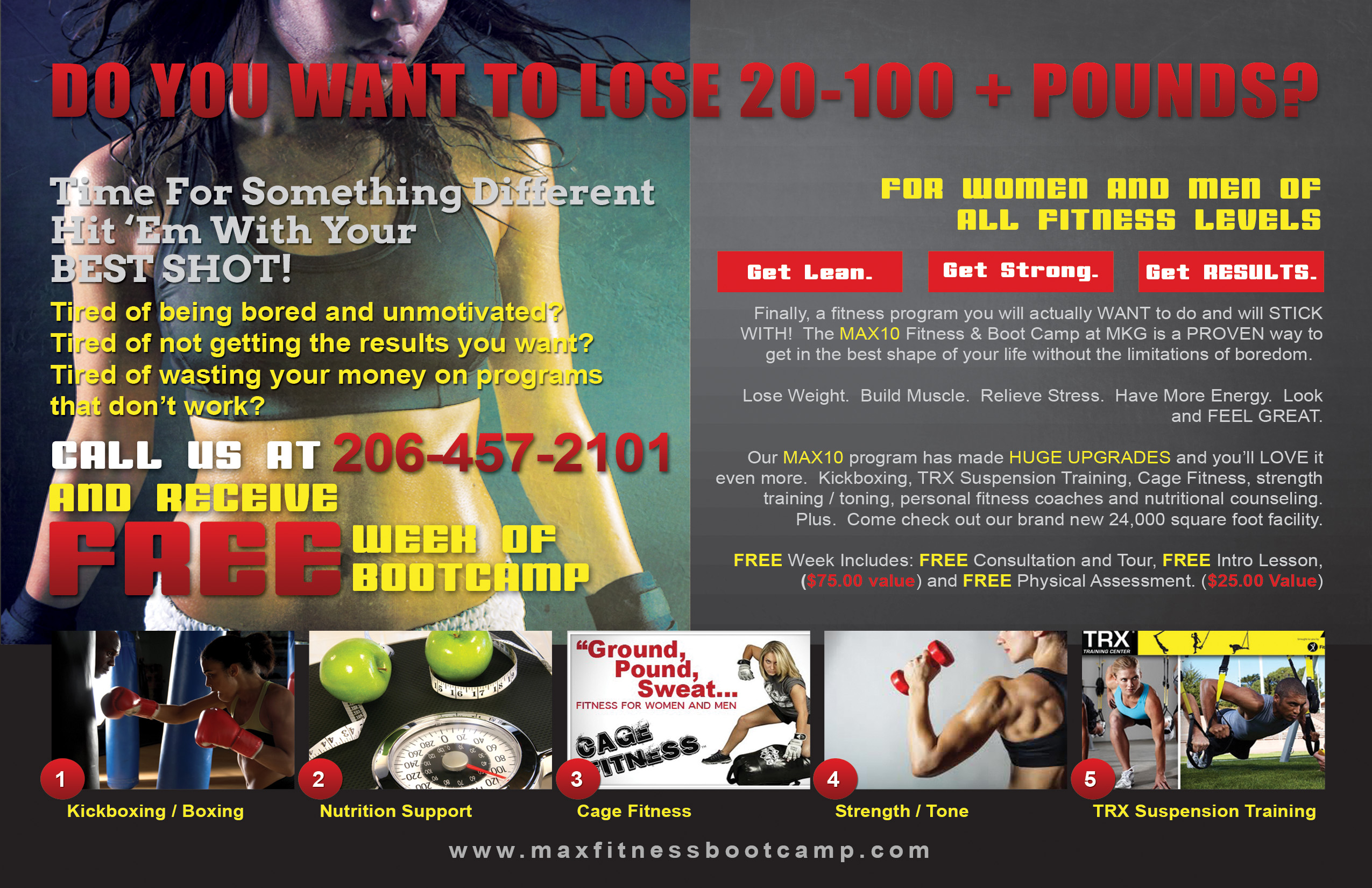 MAX Fitness Boot Camp in Seattle